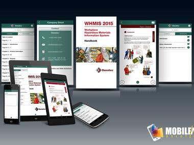 WHMIS – Handbook Mobile App