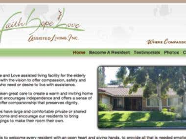 Faith, Hope and Love Assisted Living