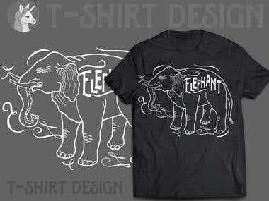 Design t-shirt.