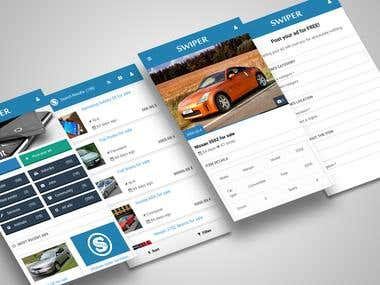 Classifieds Project - Mobile Application Template