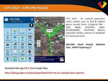 City Help - Explore Places : An Android App