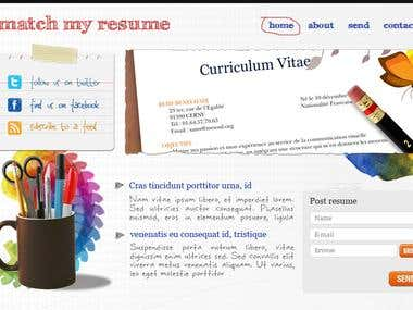 Mash my Resume