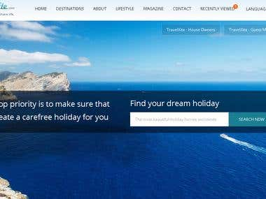 Development of travel portal travelxite.com
