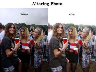 Altering Photo's