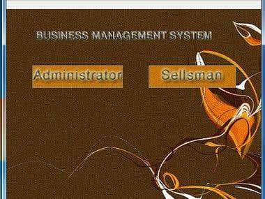 Business Management System software image