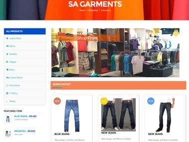 PACE SHOPPING MALL ONLINE SHOPPING SYSTEM