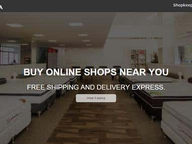 Magento -- Online store for Mattress