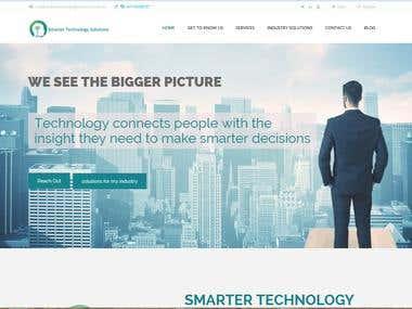 Website for Smarter Technology Solutions