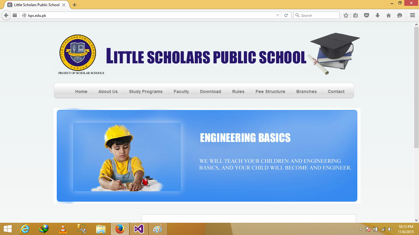 Little Scholar Public School Web Application