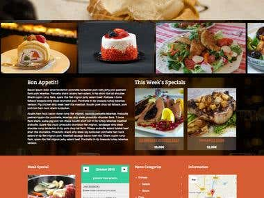 Restaurant Website - The Fat Duck Restaurant
