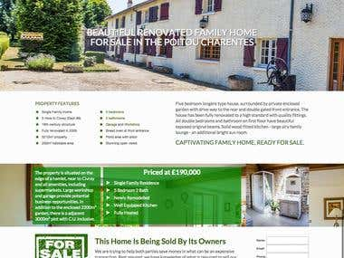 House for Sale Website