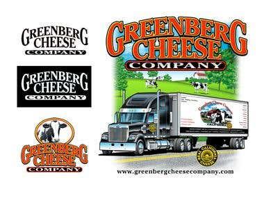 Greenburg Cheese Company Logo / T shirt