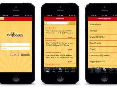 TidyBeans (Entertainment app)