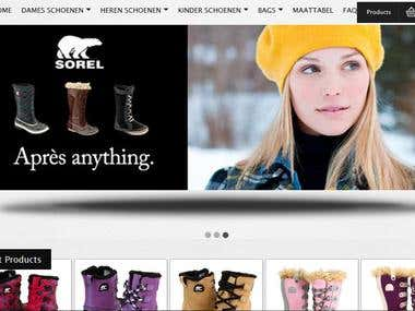 Shoes Ecommerce Site