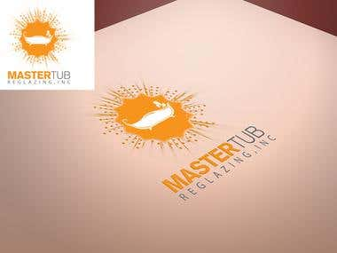 Master Tub Spraying logo design