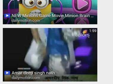 Android Mobile Application For Funny Videos