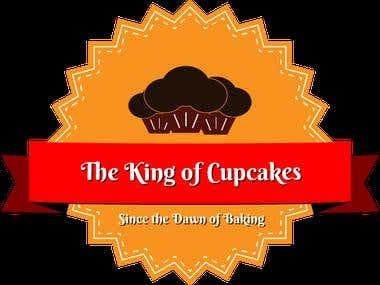 King of Cupcakes Logo