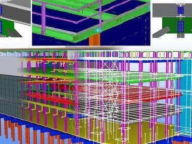 Structural 3D modellingand PEB Shed design