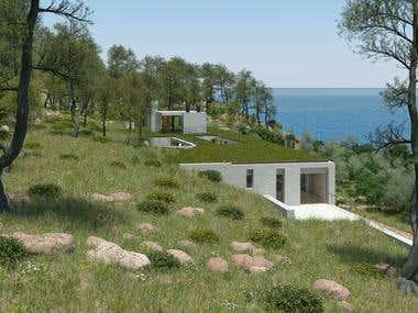 anatoli residence in northeast Attica, Greece