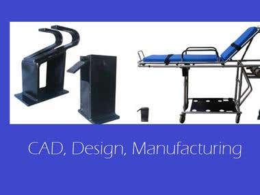 CAD, Mechanical design, Manufacturing