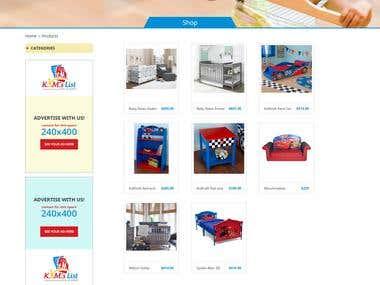 Kimlistbda ( Online Kids Store )