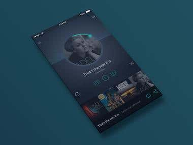 Music Player Design