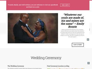 wedding site - cosnilandjartu.com