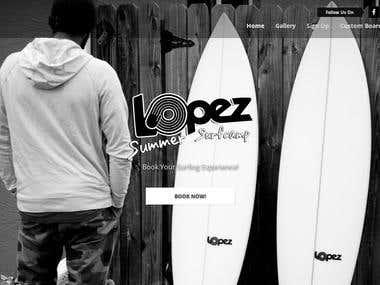 Lopez Surfing