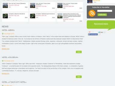 Website Creation for New Logic