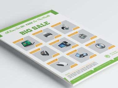 Big Sale Product Flyer