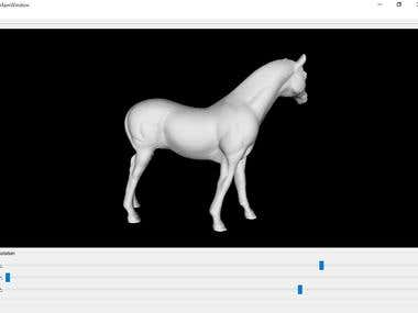 Model Viewer in C++/Qt and OpenGL