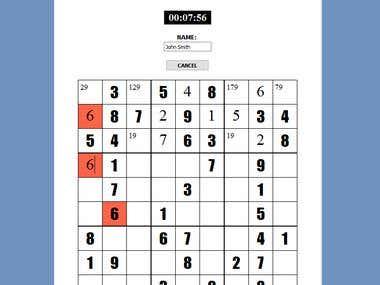 Sudoku GUI in C++/Qt