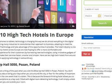 GUEST POST: Top 10 High Tech Hotels In Europe