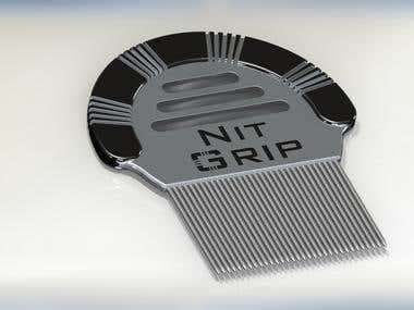 Lice Comb Design