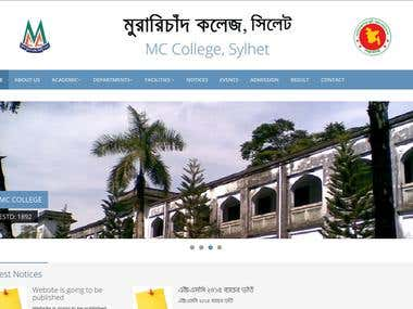 College (MC College) Website
