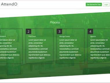 Attendo (Web Design)
