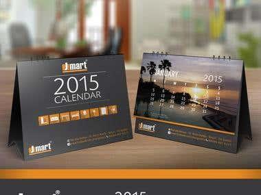 Jmart - Calendar Design