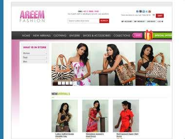 Online Fashion Store in Magento