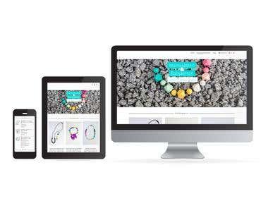 Online Shop Design, Webdesign, Logo Design