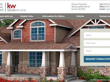 Wordpress Real estate responsive site
