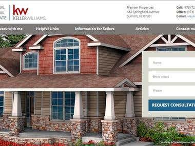 Wordpress Real estate responsive site