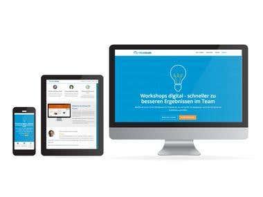 Webdesign , Landing Page Design,  Online Marketing Beratung