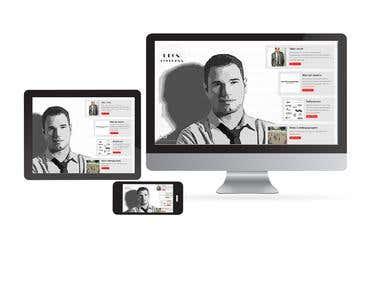 Webdesign, Blog Design