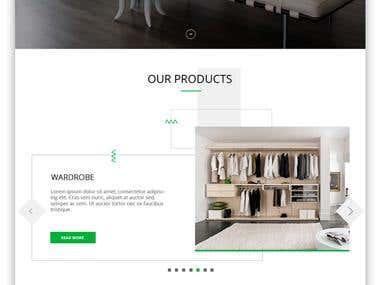 Design word press Furniture site