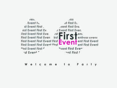 First Event |  Logo for Party organizer