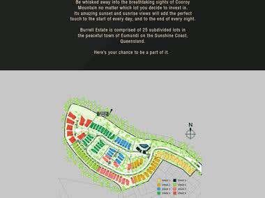 Burrell Estate Website