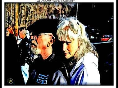 Hodge and Marlene
