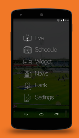 (Android) Cricky : Cricket Live Score