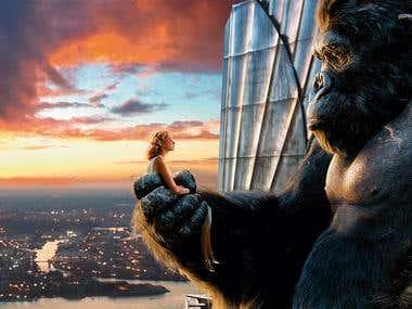 Photomontage, King Kong