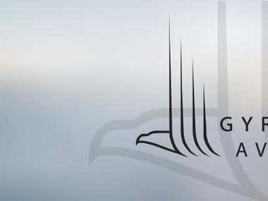 Gyrfalcon Aviation banner design
